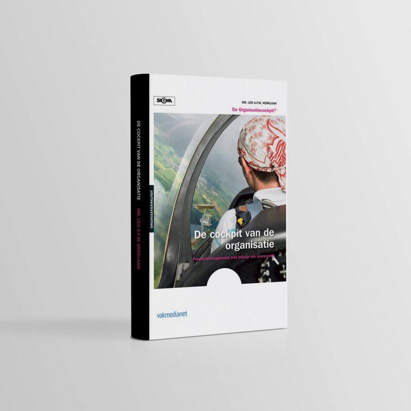 De cockpit van de organisatie | Auteur Leo Kerklaan | Nu bestellen | De organisatiecockpit | KPI | Sturing